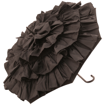 Cancan Parasol by Guy de Jean - Black