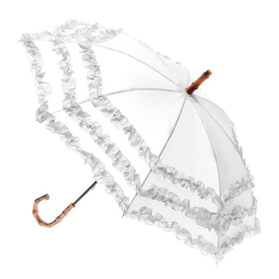 Fifi Bambino Children's Umbrella - White