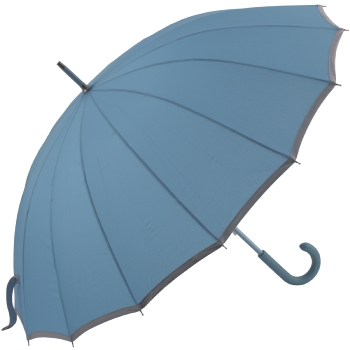 Sedici Fibreglass 16 Rib Umbrella - Sky Blue