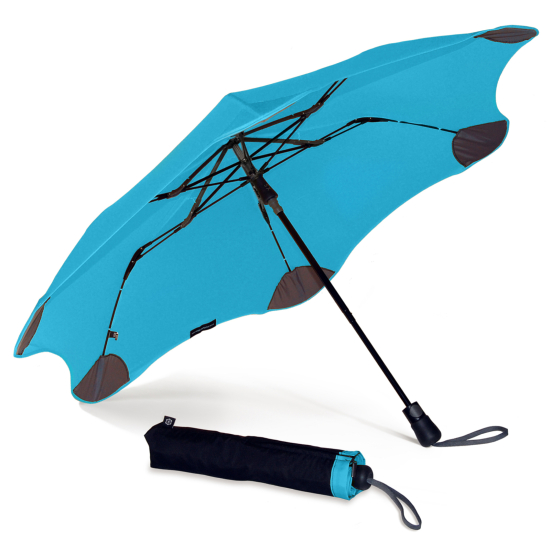 Blunt XS Metro Folding Umbrella - Blue