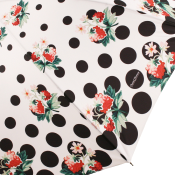 Polkadot & Raspberry Print Umbrella by Chantal Thomass