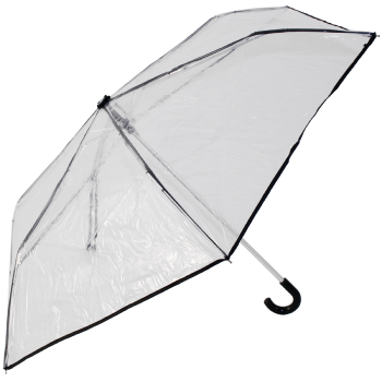 Mini PVC Umbrella - Black Trim