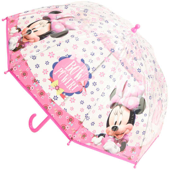 Disney's Minnie Mouse See-through Children's Umbrella