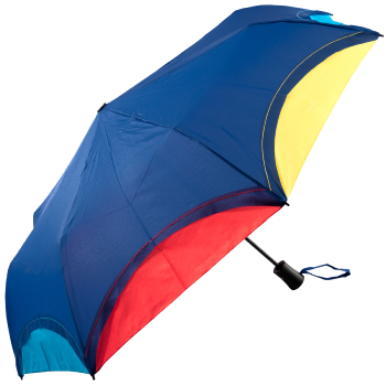 Automatic Open Rainbow Folding Umbrella - Navy
