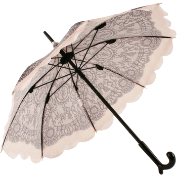 Dentelle Lace Print Sun Parasol by Chantal Thomass