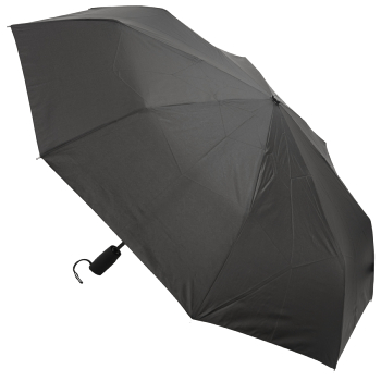 Auto Open & Close Performance Folding Umbrella - Black