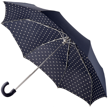 Joules Men's Minilite Folding Umbrella - Cloud Nine