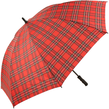 Tartan Golf Umbrellas - Red (as Royal Stewart)
