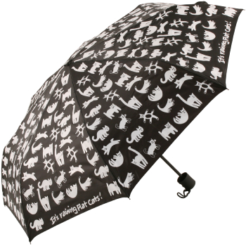 The Flat Cat Folding Umbrella