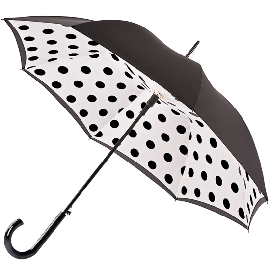 Fulton Bloomsbury Double Canopy Umbrella - Polkadot