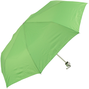 Mini Colours - Plain Coloured Folding Umbrella - Green