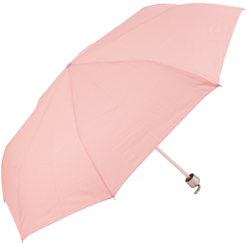Mini Colours - Plain Coloured Folding Umbrella - Pink
