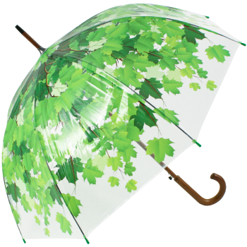 Leaf Canopy Dome Clear Umbrella - Umbrella Tree