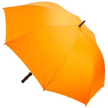 Premium Fibreglass Golf Umbrella - Orange