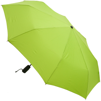 Auto Open & Close Performance Folding Umbrella - Lime Green