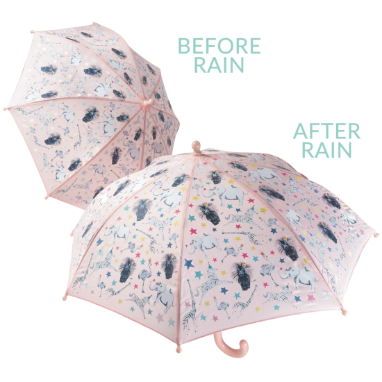 Colour Changing Childrens Umbrella - Party Animal