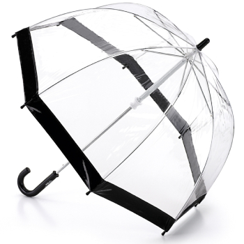 Fulton Funbrella Birdcage - Black - Clear Umbrellas for Children