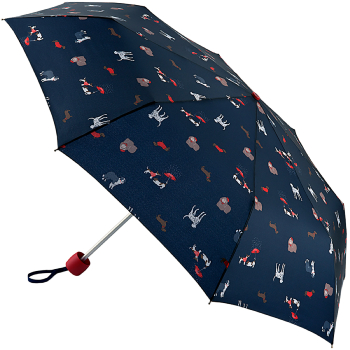 Joules Minilite Folding Umbrella - Dapper Dogs