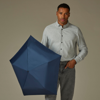 Fulton Aerolite UVP 50+ Folding Umbrella - Navy Blue