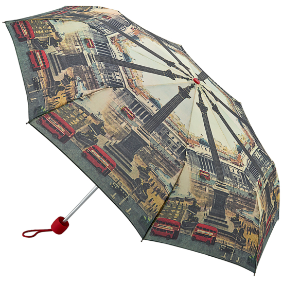 The National Gallery Minilite Folding Umbrella - Vintage London