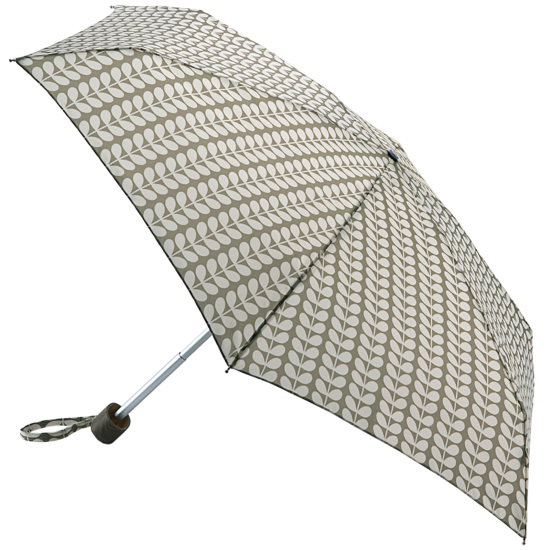 Orla Kiely Tiny Folding Umbrella - Solid Stem