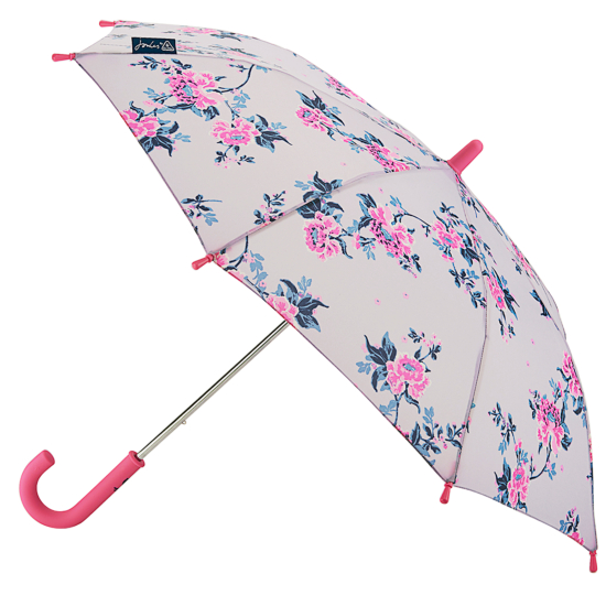 Joules Junior Kids Umbrella - Chinoiserie Floral Lilac
