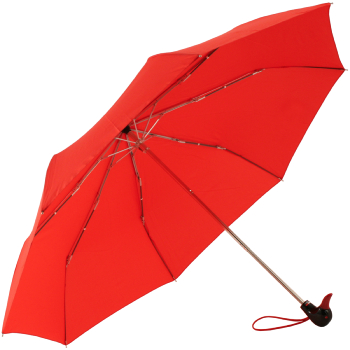 Duck Folding Umbrella by Rainbow of Milan - Red