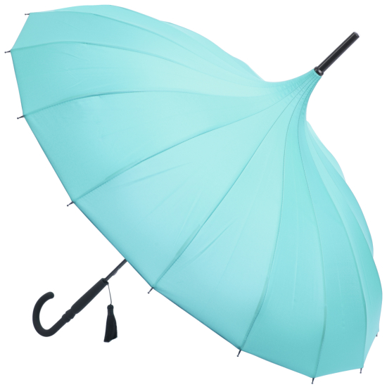 Classic Pagoda Umbrella from Soake - Teal