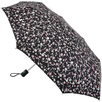 Fulton Open & Close 4 - Auto Folding Umbrella - Pink Posy