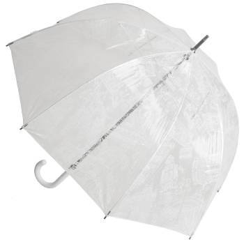 Architecture PVC Dome Umbrella by M&P - White
