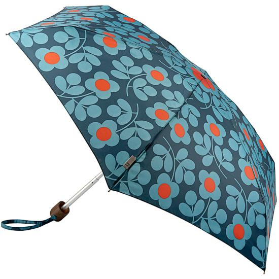 Orla Kiely Tiny Folding Umbrella - Stem Sprig