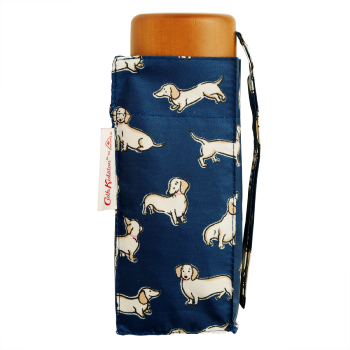 Cath Kidston Tiny Folding Umbrella - Mini Mono Dogs