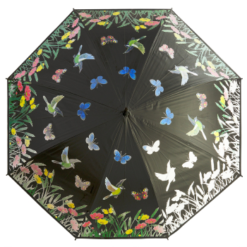Colour Changing Umbrella - Butterfly Meadow