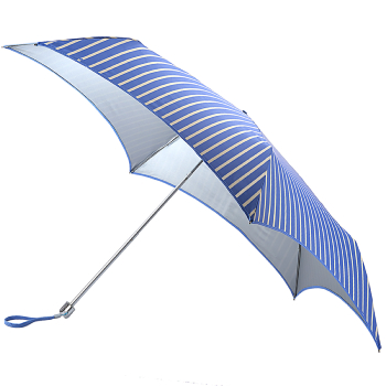 Fulton Parasoleil UVP 50+ Folding Umbrella - Candy Stripe
