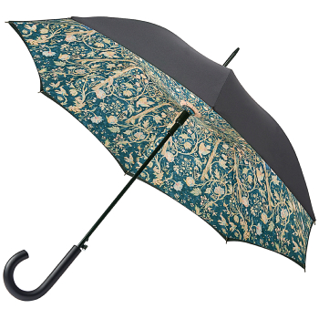 Morris & Co Bloomsbury Ladies Double Canopy Walking Length Umbrella - Mesletter