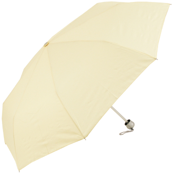 Mini Colours - Plain Coloured Folding Umbrella - Ivory