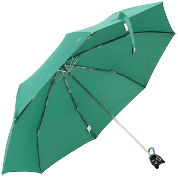 Cat Folding Umbrella by Rainbow of Milan - Teal