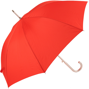 Colours - Plain Coloured Umbrella - Red