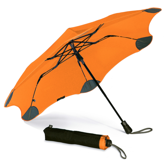 Blunt XS Metro Folding Umbrella - Orange