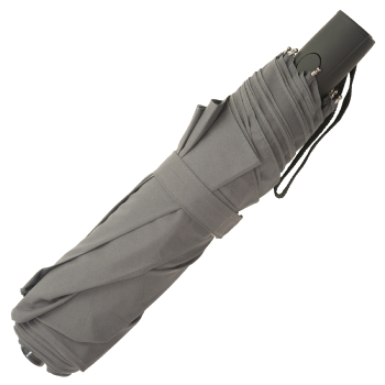 Big Top Auto Open & Close Folding Windfighter Umbrella - Grey