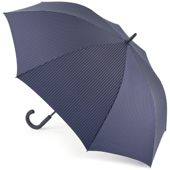 Fulton Knightsbridge Gents Umbrella - City Stripe Navy/Cloud