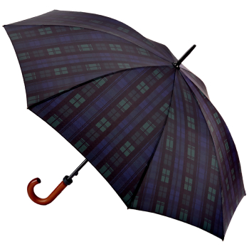 Fulton Huntsman - Black Watch Gents Walking Length Umbrella