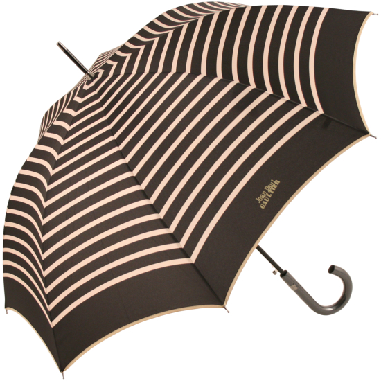 Rayes Black and Gold Umbrella by Jean Paul Gaultier