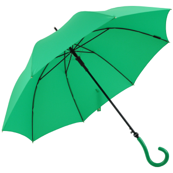 Question Mark Handle Umbrella by Joy Heart - Emerald