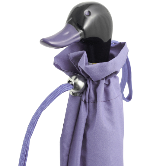 Duck Folding Umbrella by Rainbow of Milan - Lavender