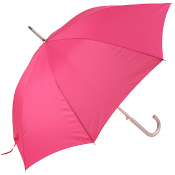 Colours - Plain Coloured Umbrella - Fuchsia Pink