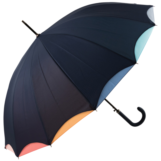 Pastel Rainbow - Double Skin Automatic Umbrella