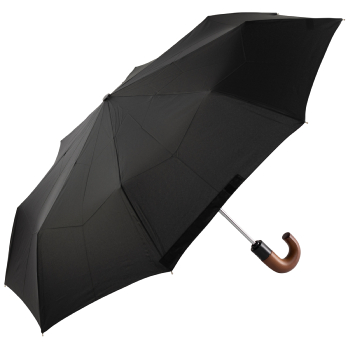 Fulton Open & Close 11 - Automatic Folding Umbrella Black