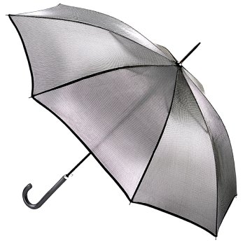 Fulton Kew Ladies Umbrella - Silver Iridescent