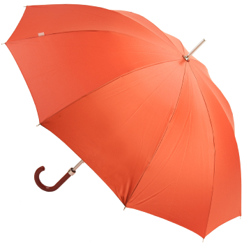 M&P Ladies Walking Length Umbrella - Russet Red